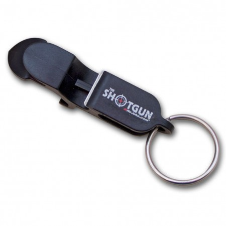 Shotgun Beer Shotgunning Keychain Can Bottle Opener
