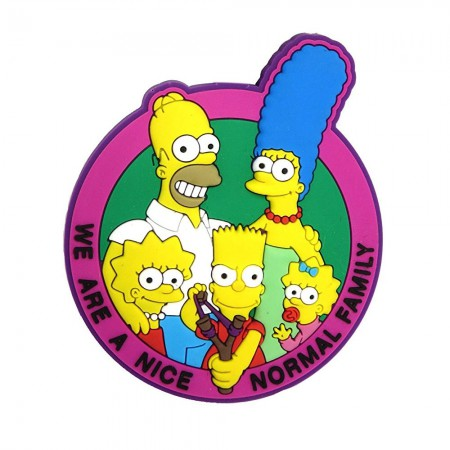The Simpsons Family PVC Soft Touch Magnet