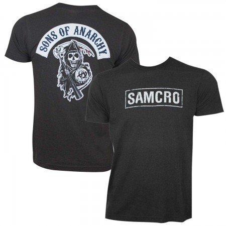Sons Of Anarchy Men's Black SAMCRO T-Shirt