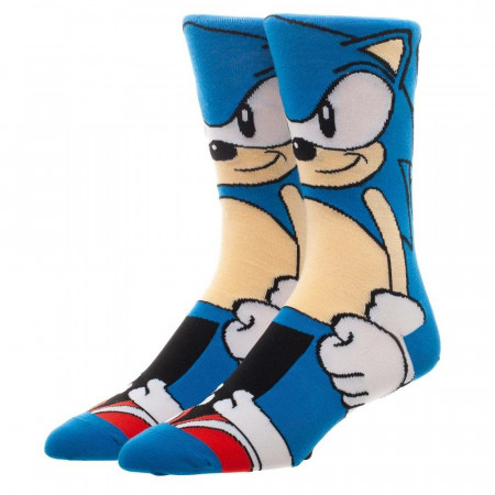 Sonic The Hedgehog 360 Men's Socks