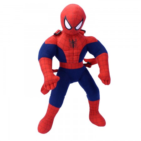 Spiderman Plush Superhero Backpack