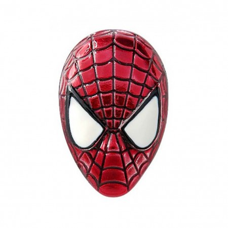 Spider-Man Mask Lapel Pin
