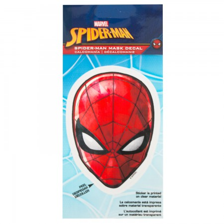 Spider-Man Mask 4.5 Inch Sticker
