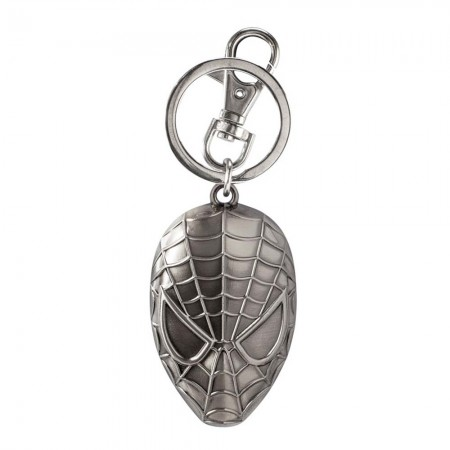 Spider-Man Mask Metal Keychain