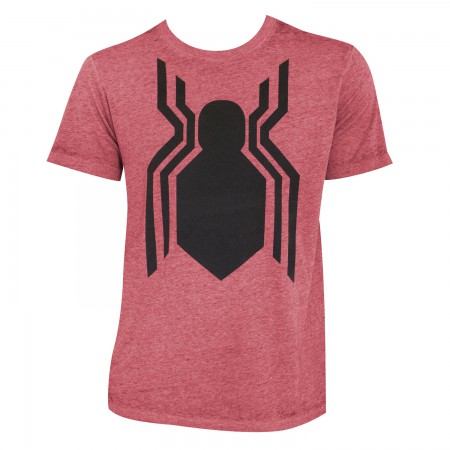 Spiderman Men's Heather Red Homecoming T-Shirt