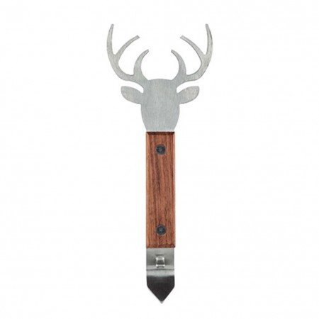 Stag Deer Wood Bottle Opener