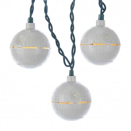 Star Wars Grey Death Star String Light Set