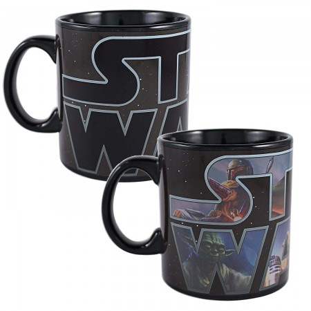 Star Wars Logo 20oz Color Change Mug