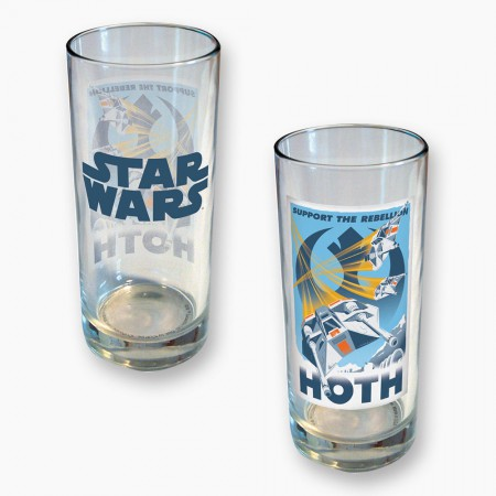 Star Wars Hoth Design 15 Ounce Glass