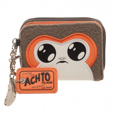 Star Wars Juniors Epsiode 8 Porg Zipper Wallet