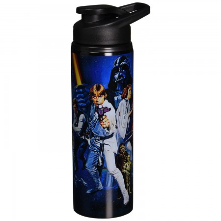 Star Wars Classic Stainless Steel 25oz Water Bottle