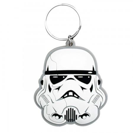 Star Wars Rubber Stormtrooper Keychain