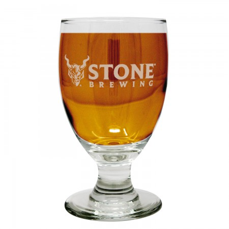 Stone Brewing Etched Pairing Glass