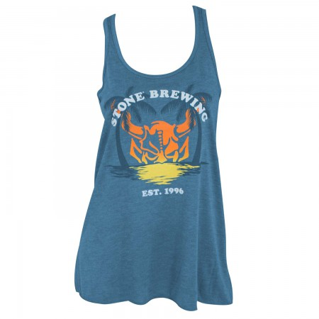 Stone Brewing Co. Women's Blue 1996 Tank Top