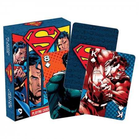 Superman Superhero Playing Cards