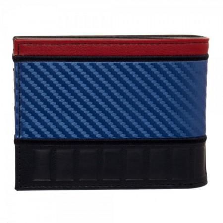 Superman Carbon Fiber Bifold Wallet