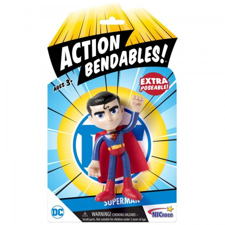 Superman Action Bendables Posing Toy