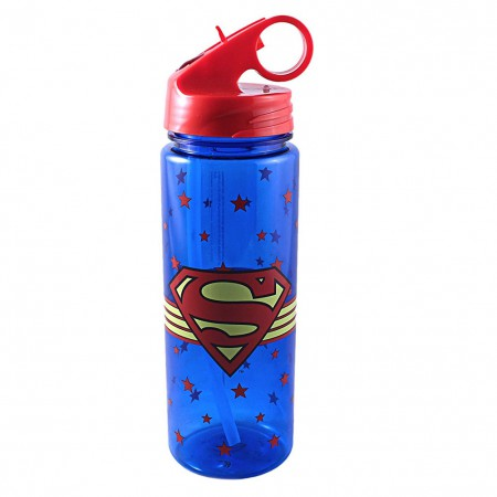 Superman Plastic Water Bottle