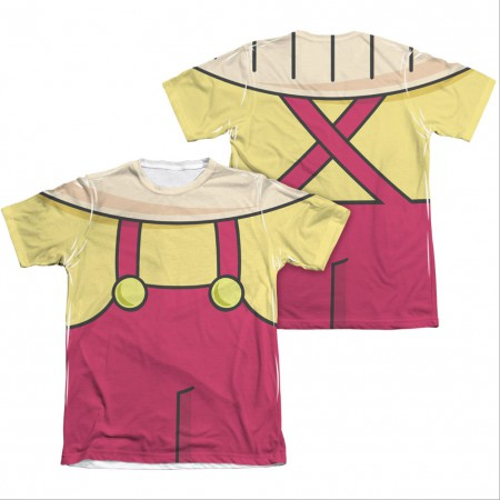 Family Guy Stewie Costume Sublimation T-Shirt