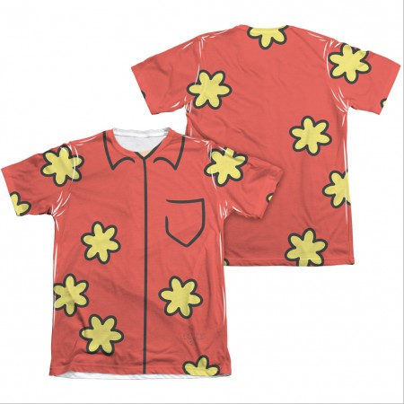 Family Guy Quagmire Costume Sublimation T-Shirt