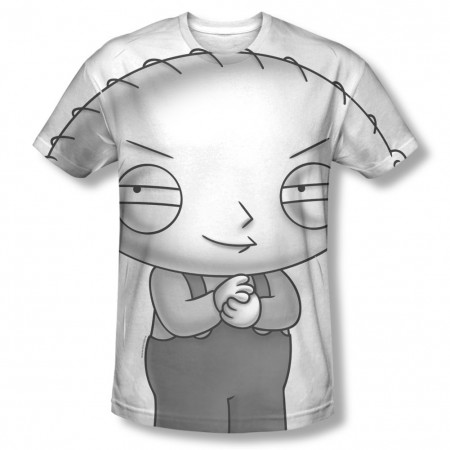 Family Guy Stewie Head Sublimation T-Shirt