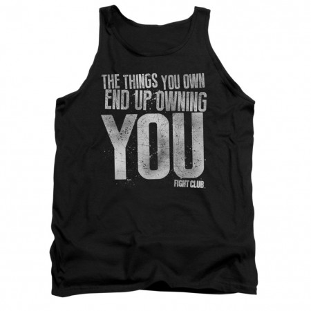 Fight Club Owning You Black Tank Top