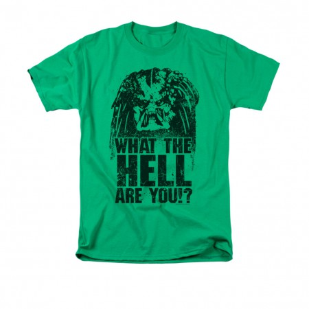 Predator What The Hell Are You Green T-Shirt