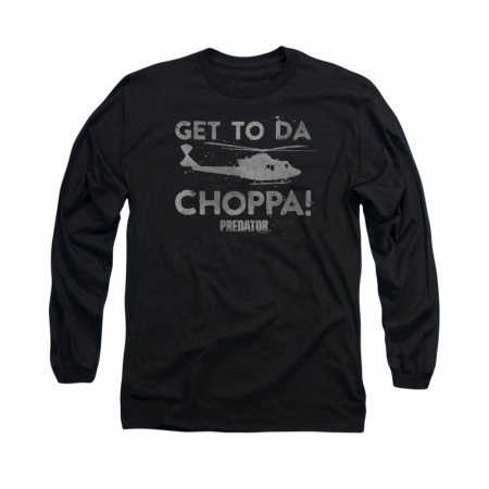 Predator Choppa Black Long Sleeve T-Shirt