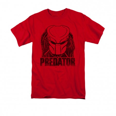 Predator Logo Red T-Shirt