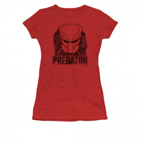 Predator Logo Red Juniors T-Shirt