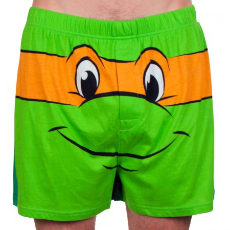Teenage Mutant Ninja Turtles Michelangelo Men's Boxers