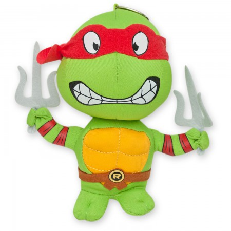 Teenage Mutant Ninja Turtles Plush Raphael Keychain