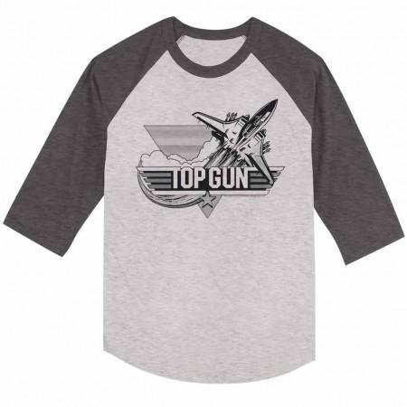 Top Gun Black Gray TShirt
