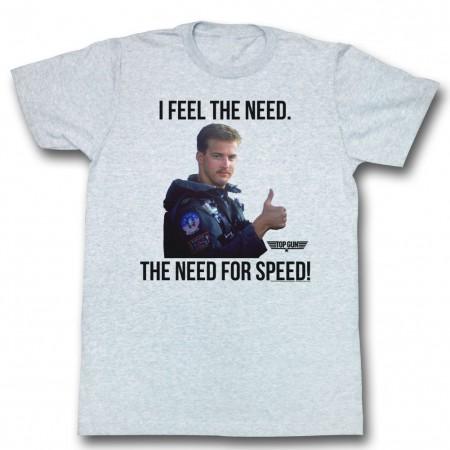 Top Gun Feel The Need T-Shirt