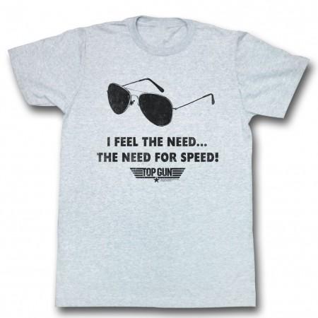 Top Gun Speed Need T-Shirt