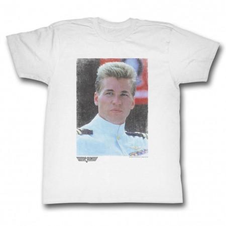Top Gun Iceman Fade T-Shirt