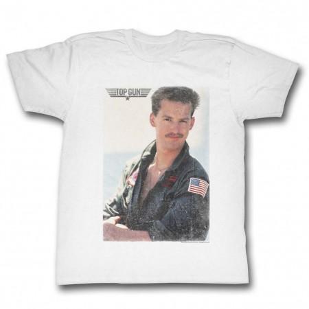 Top Gun Goose Fade T-Shirt