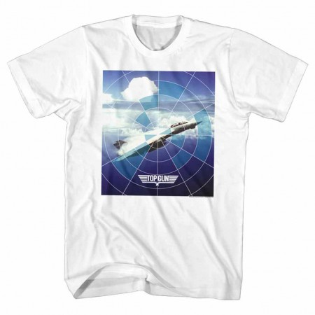 Top Gun Jet White TShirt