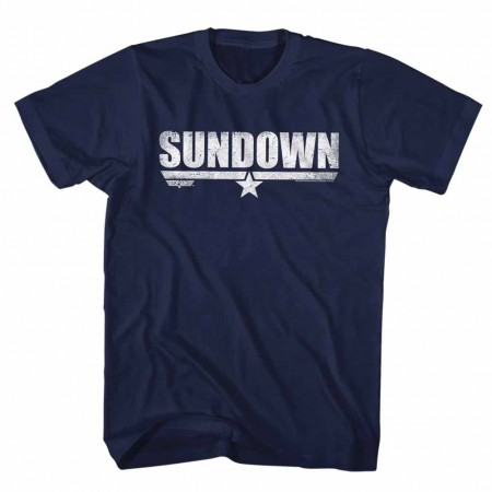 Top Gun Sundown Blue TShirt