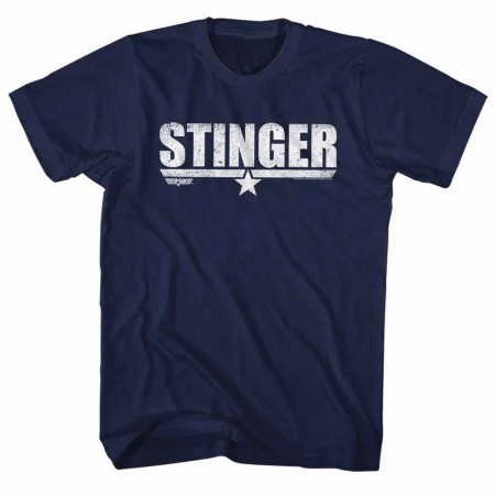 Top Gun Stinger Blue TShirt
