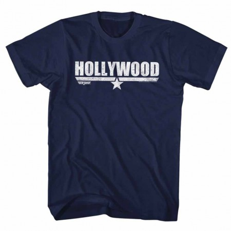 Top Gun Hollywood Blue TShirt