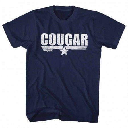 Top Gun Cougar Blue TShirt