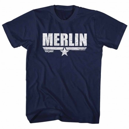 Top Gun Merlin Blue TShirt