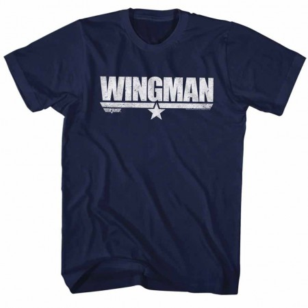 Top Gun Wingman Blue TShirt