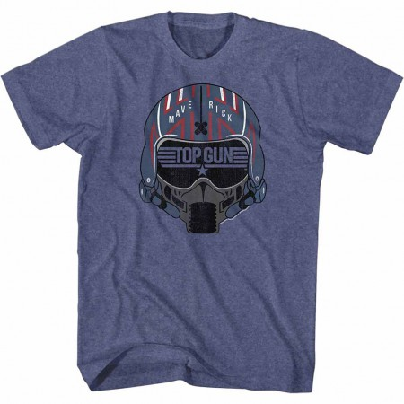 Top Gun Maverick Helmet Blue TShirt