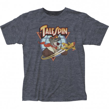 Talespin Baloo Logo Men's Grey T-Shirt