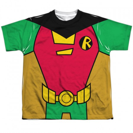 Robin Teen Titans Uniform Youth Costume Tee