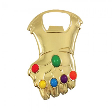 Avengers Infinity War Thanos Glove Stones Bottle Opener