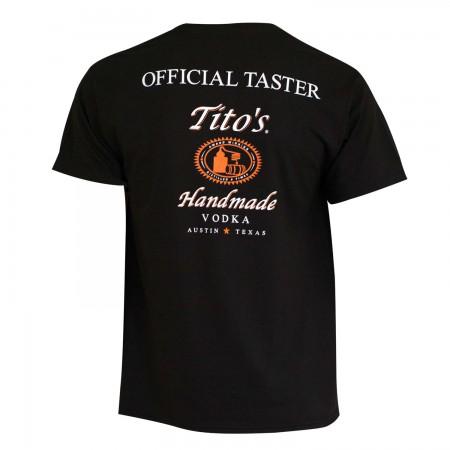 Tito's Vodka Men's Taster Tee Shirt