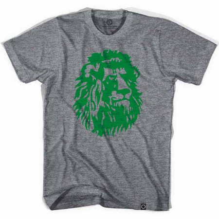 Cameroon Indomitable Lions Soccer Gray T-Shirt